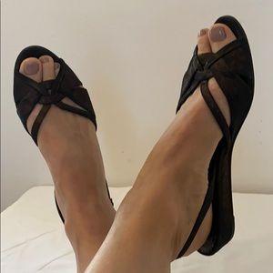 Donald Pliner Couture Leather Sandals 7.5